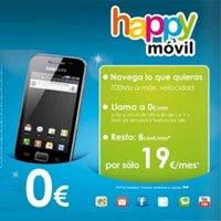 Nuevo contrato Happy móvil, la OMV de Phone House