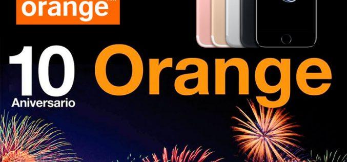 Orange regala 100 iPhone 7 por su décimo aniversario