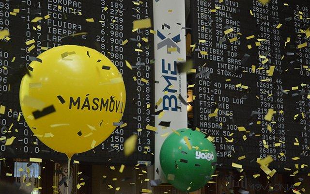 Masmóvil debuta en el Mercado Continuo